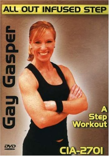 Gay Gasper: All Out Infused Step - A Step Workout DVD Image