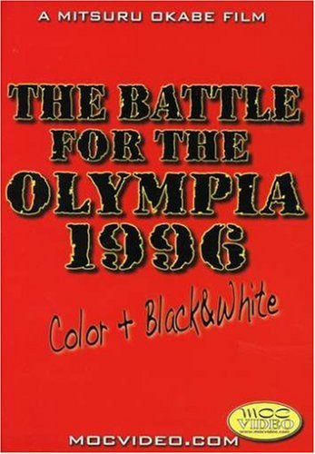 The Battle for the Olympia 1996 (Bodybuilding) DVD Image