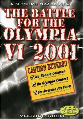 The Battle for Olympia 2001 (Bodybuilding) DVD Image