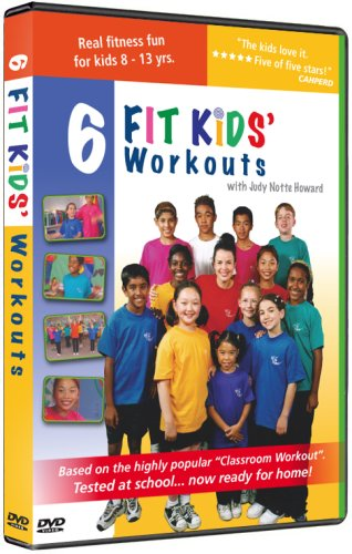6 Fit Kids' Fitness Workouts for Children DVD Image