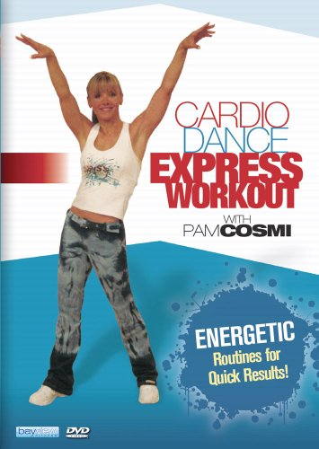 Cardio Dance Express with Pam Cosmi DVD Image