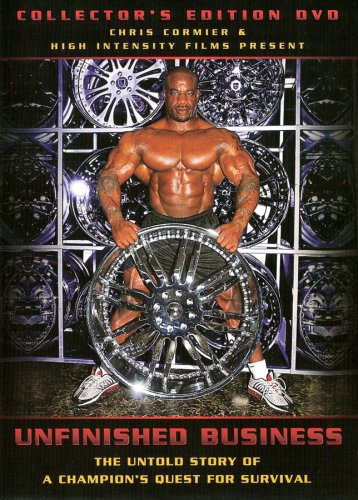 Chris Cormier: Unfinished Business (Bodybuilding) DVD Image