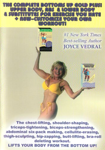 Joyce Vedral: Complete Bottoms Up DVD Image