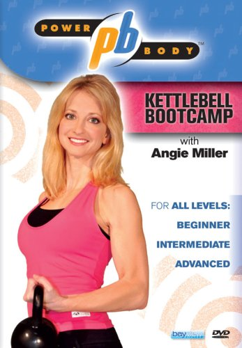 Power Body: Kettlebell Bootcamp with Angie Miller (kettle bell) DVD Image