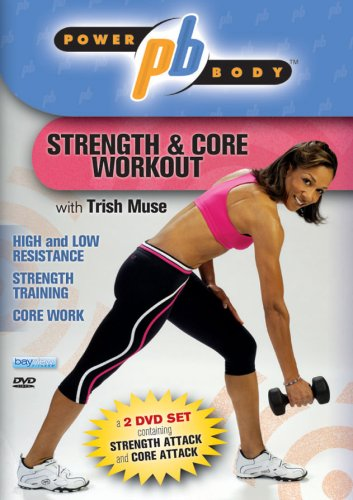 Power Body: Strength & Core Workout 2 DVD Set with Trish Muse DVD Image