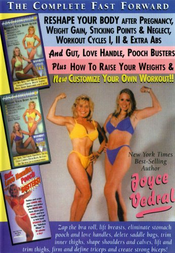 Joyce Vedral: Complete Fast Forward Reshape After Pregnancy and More DVD Image