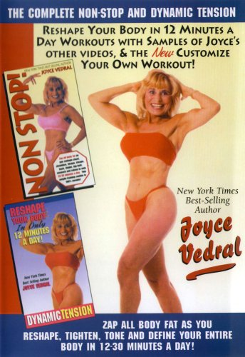 Joyce Vedral: Dynamic Tension & Complete Non-Stop Workout DVD Image