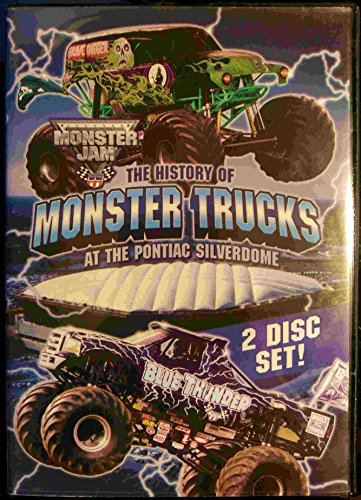 The History of Monster Trucks at the Pontiac Silverdome DVD Image