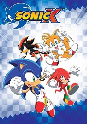 Sonic X Complete Seasons 1 and 2 DVD Image