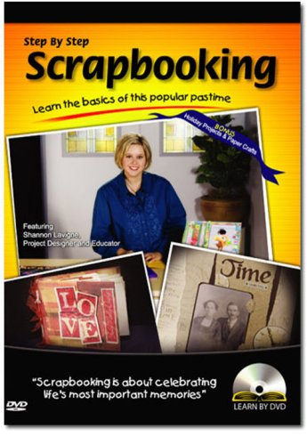 Learn By DVD: Scrapbooking DVD Image