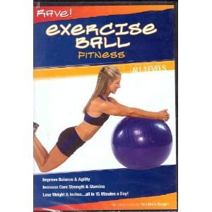 Rave! Exercise Ball Fitness DVD Image
