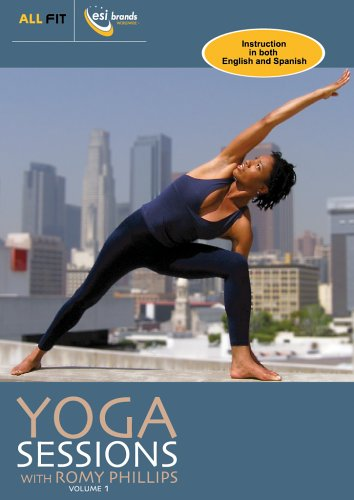 Yoga Sessions with Romy Phillips Vol. 1 DVD Image