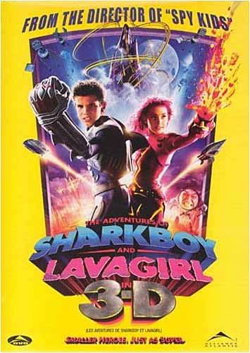 The Adventures of SharkBoy and LavaGirl in 3-D DVD Image