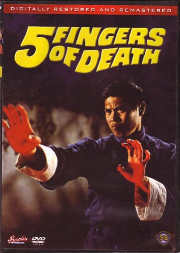 Five Fingers of Death DVD Image