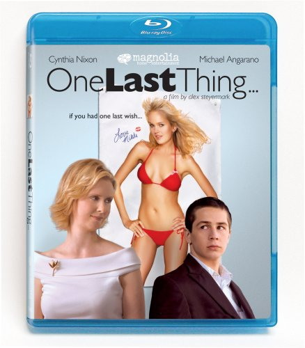 One Last Thing... [Blu-ray] DVD Image