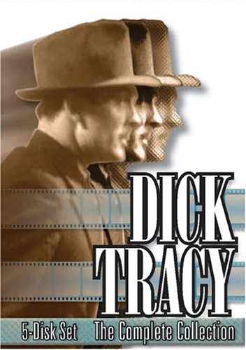 Dick Tracy (1950/ Braun Media): The Complete Collection (5-Disc) DVD Image