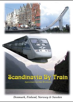 Scandinavia By Train DVD Image