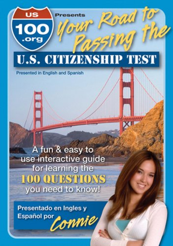 US100.Org Your Road To Passing The US Citizenship Test DVD Image