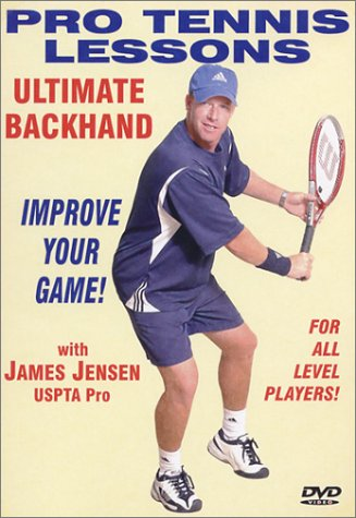 Pro Tennis Lessons: Ultimate Backhand DVD Image