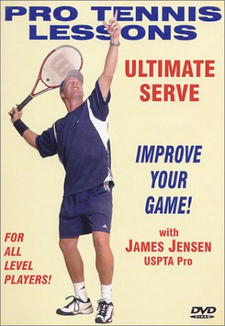 Pro Tennis Lessons: Ultimate Serve DVD Image