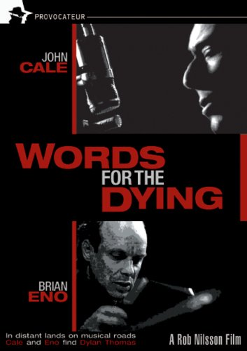 Words For The Dying DVD Image