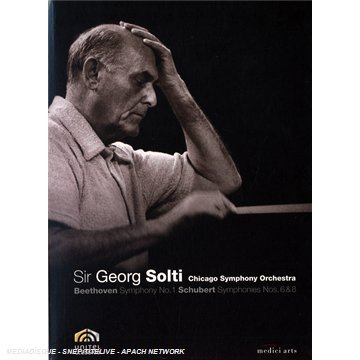 Beethoven: Symphony No 1 / Schubert: Symphonies Nos 6 & 8: Sir Georg Solti / Chicago Symphony Orchestra DVD Image
