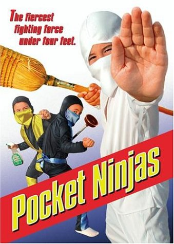 Pocket Ninjas (Trinity Home Entertainment/ Old Version/ 2004 Release) DVD Image