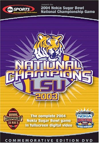 Complete 2004 Nokia Sugar Bowl National Championship Game DVD Image