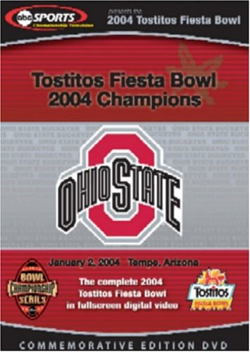 Complete 2004 Tostitos Fiesta Bowl Game DVD Image