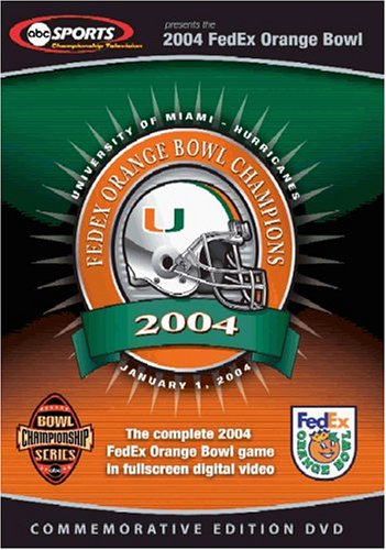 Complete 2004 FedEx Orange Bowl Game DVD Image