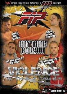 World Wrestling Network Presents: FIP: Violence Is The Answer DVD Image