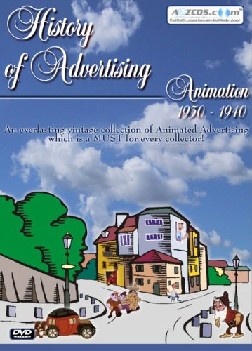History Of Advertising: Animation 1930-1940 DVD Image