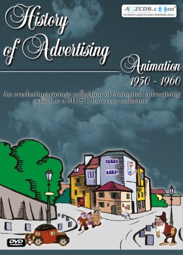History Of Advertising: Animation 1950-1960 DVD Image