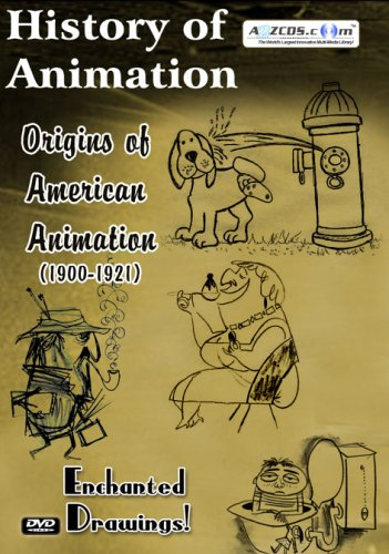 History Of Animation: Origins Of American Animation: 1900-1921 (2-Disc) DVD Image