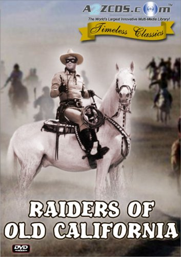 Raiders Of Old California DVD Image