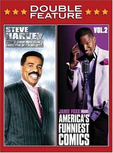 Steve Harvey: Don't Trip ... He's Ain't Through With Me Yet! / Jamie Foxx Presents: America's Funniest Comics, Vol. 2 DVD Image