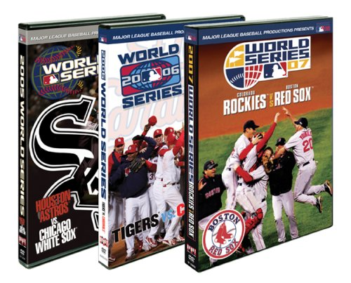MLB: World Series Triple Pack: Colorado Rockies Vs. Boston Red Sox / Detroit Tigers Vs. St. Louis Cardinals / ... DVD Image