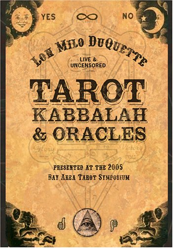 Tarot, Kabbalah And Oracles: Lon Milo DuQuette Live And Uncensored DVD Image