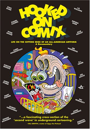 Hooked On Comix, Vol. 1: Life On The Cutting Edge Of An All-American Artform DVD Image