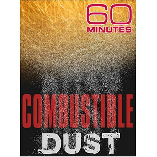 60 Minutes: Is Enough Done To Stop Explosive Dust?: June 8, 2008 DVD Image