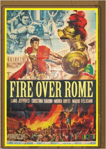 Fire Over Rome (On Demand DVD-R) DVD Image