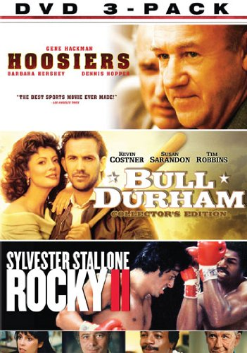 MGM Sports 3-Pack: Rocky II / Hoosiers / Bull Durham (Collector's Edition) DVD Image