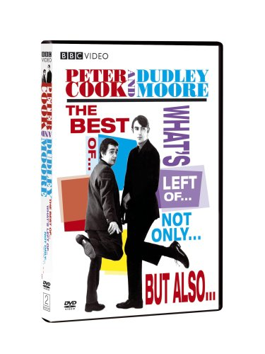 Peter Cook & Dudley Moore: The Best Of ... What's Left Of ... Not Only ... But Also ... DVD Image