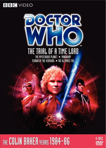 Doctor Who: The Trial Of A Time Lord DVD Image