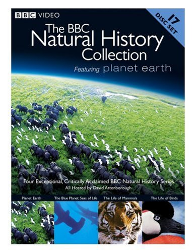 BBC Natural History Collection (Alternate UPC): Planet Earth / Blue Planet: Seas Of Life / Life Of Mammals / Life Of Birds DVD Image
