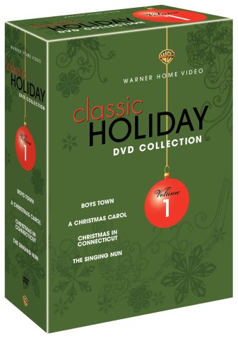 Classic Holiday Collection, Vol. 1 (4-Disc): Boys Town / A Christmas Carol (1938) / Christmas In Connecticut / The Singing Nun DVD Image