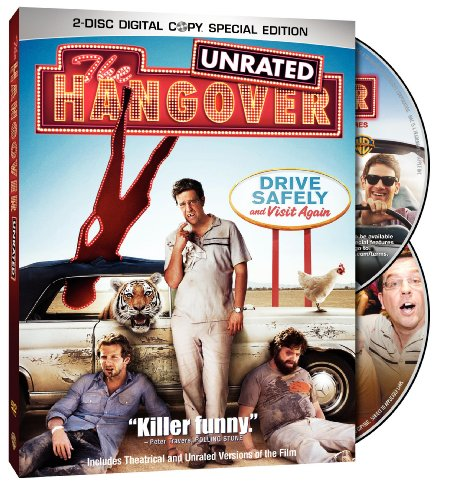 The Hangover (Unrated Two-Disc Special Edition) DVD Image