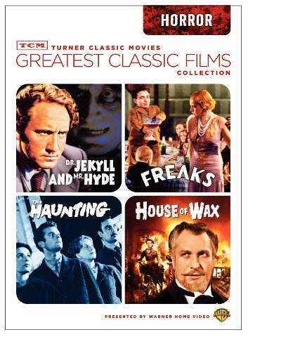TCM Greatest Classic Films Collection: Horror (House of Wax 1953 / The Haunting 1963 / Freaks / Dr. Jekyll and Mr. Hyde 1941) DVD Image