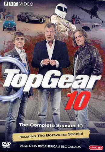 Top Gear: The Complete Season 10 / Clarkson: Heaven And Hell DVD Image