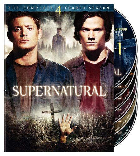 Supernatural: The Complete 4th Season DVD Image